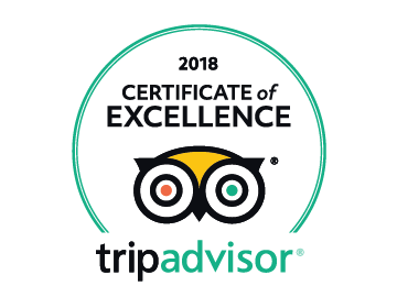 TripAdvisor Certificate ox Excellence 2018